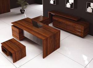Aria makam masası ofis mobilyası