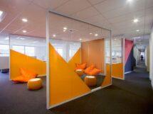 Cam bölme duvar, Aliminyum panel bölme, Ofis bölme, Seperasyon sistemi
