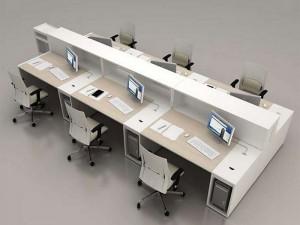 Çoklu personel çalışma masası