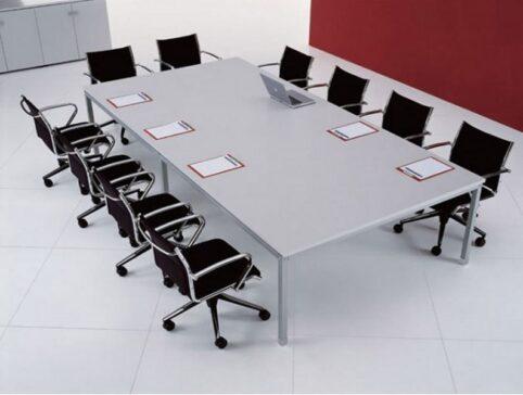 Dikdörtgen toplantı masası