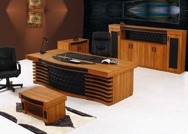 Vip Masa Takimi Ahsap Ofis Mobilya Elsa Office Furniture