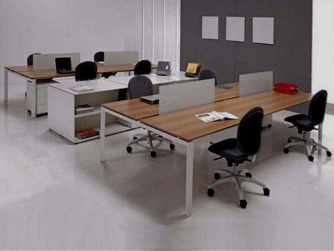 Modern büro mobilyası sistemleri