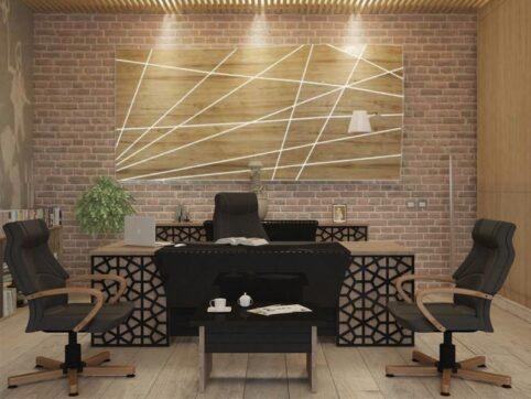Petek makam ofis mobilyası