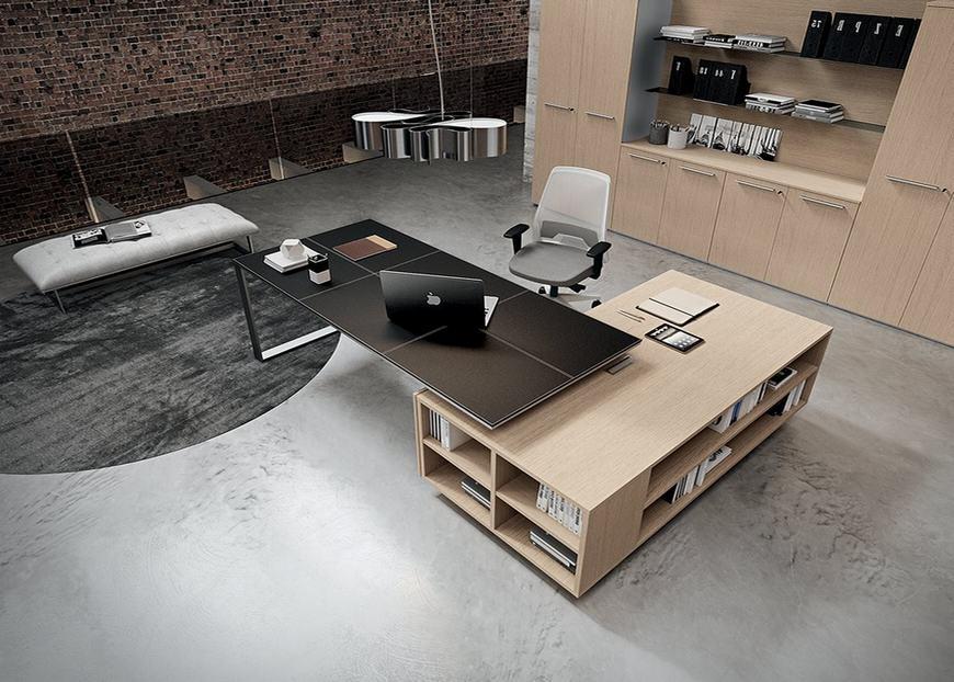 Modern yönetici ofis mobilyası