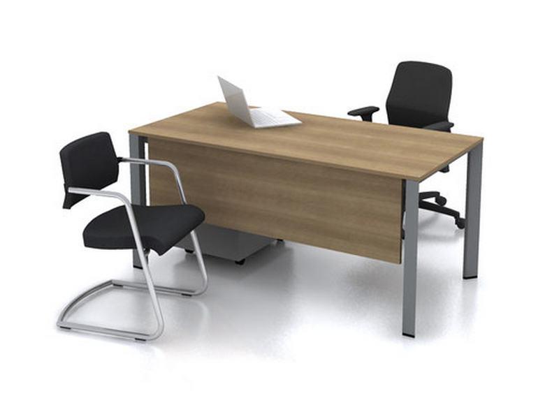 Profil ayaklı büro masası